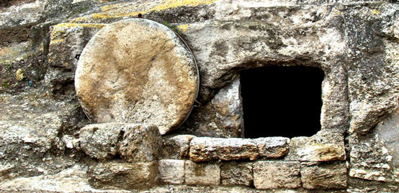 They found the stone rolled away from the tomb, but when they entered, they did not find the body of the Lord Jesus. Luke 24: 2-3