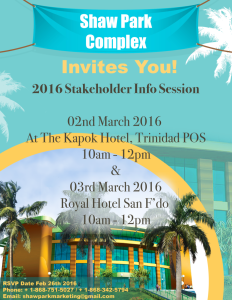 2016 Stakeholder Session E-Invitation
