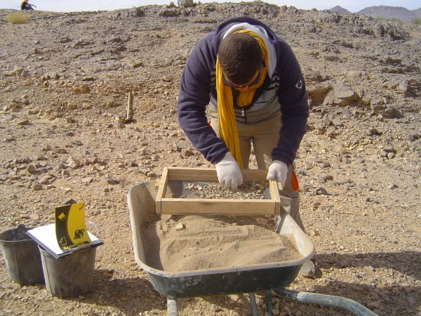 Fouilles archéologiques du Tombeau de Tin Hinan à Abalessa