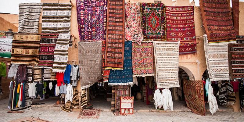 Les fameux tapis de Ghardaia