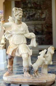 Musée de Cherchell - Statue de Diane Chasseresse