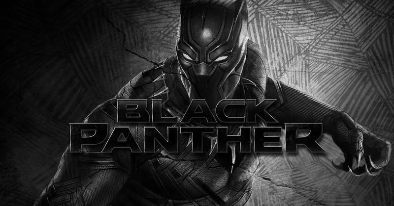 Super héros Black-Panther
