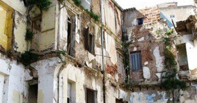 Effondrement de la Casbah d'Alger