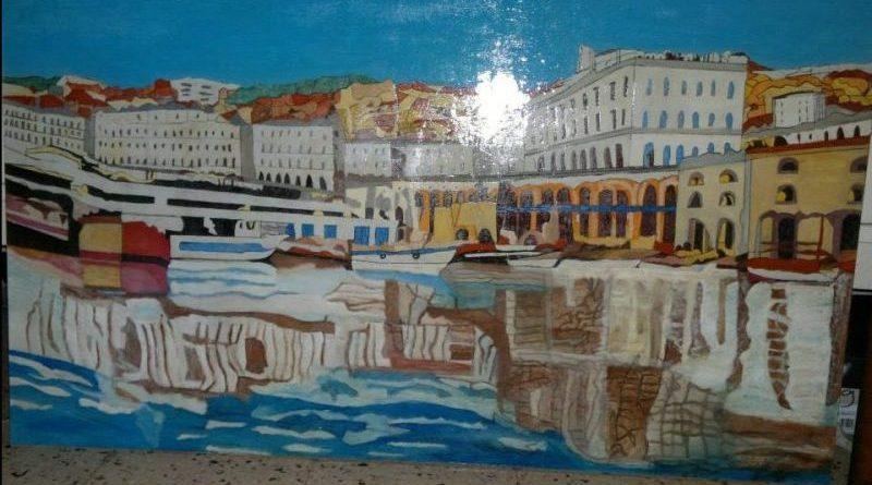 Exposition de peinture de Mohamed El Kamel Zoughailech