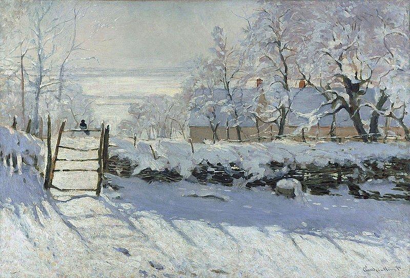 L'hiver et Noël en peinture