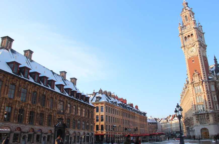 Discover Lille with a local guide