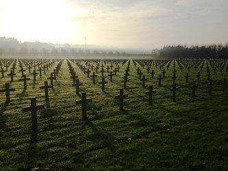 Lieux de mémoire de la guerre 14-18 dans les Hauts-de-France et en Flandres