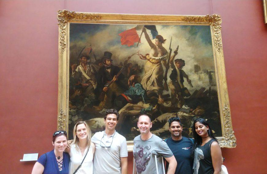 Les chefs d'œuvres du Louvre