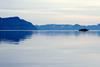 Fjord auf Spitzbergen