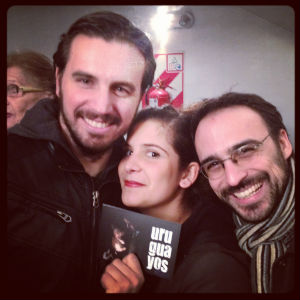 Alejandro Gayvoronsky, Luciana Lagisquet and Santiago Sanguinetti