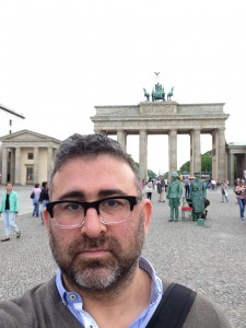 Self Portrait @ Brandenburg Gate