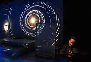 "New Stage Theatre's ""Cosmicomics"" (Photo by Lee Wexler)"