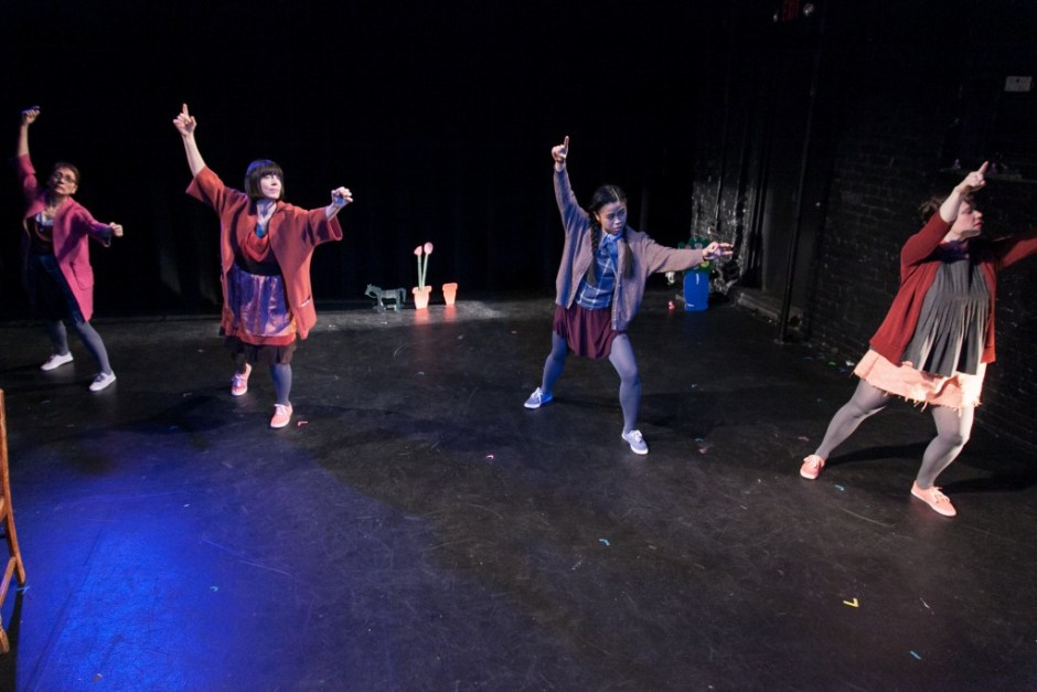 Kristin Jackson, Paige Snell, Nikki Calonge and Eva Peskin (Photo by Erik Carter)