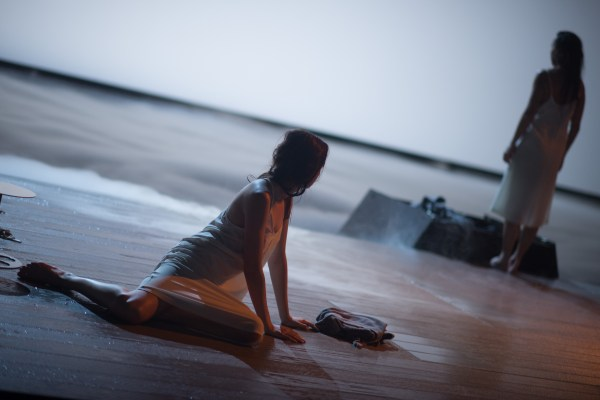 """Images from dress rehearsal for Toneelgroep Amsterdam's """"After the Rehearsal / Persona""""  Photo © Jacques-Jean Tiziou"""