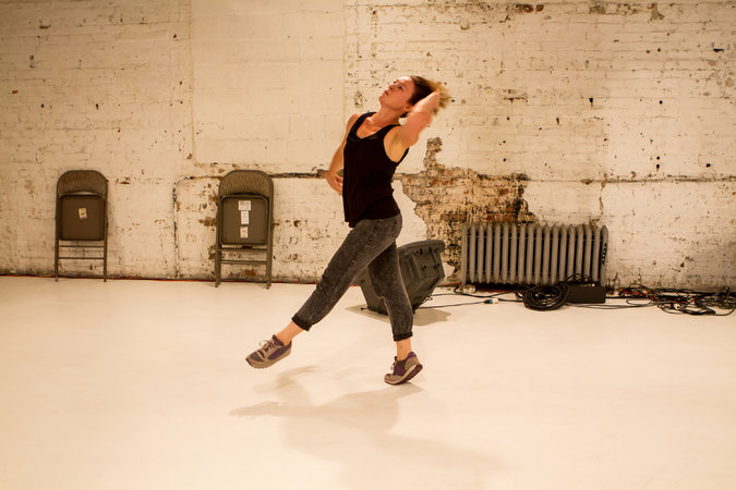 "Molly Poerstel in ""To Being,"" Photo by Alex Escalante"