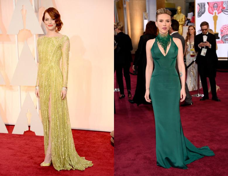 Oscars 2015 Green