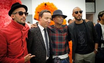 PARIS: G I R L งานแสดงศิลปะโดย Pharrell Williams ที่ Galerie Perrotin