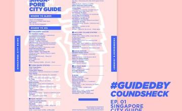 City Guide สิงค์โปร์แบบพกพาจากเพจ Coundsheck's journey โหลดฟรี พรินท์ติดตัวก็ได้