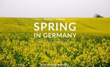 Spring in Germany เยอรมนี 4 ฤดู ตอนที่4 : ฤดูใบไม้ผลิ
