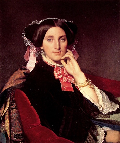 Portrait de Madame Gonse, Jean-Auguste- Dominique Ingres
