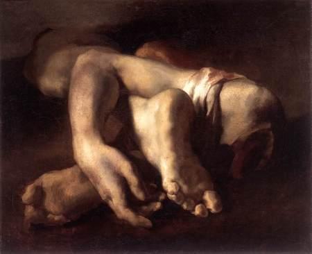 Etude de pieds et de main, dit aussi Fragments anatomiques, Théodore Géricault