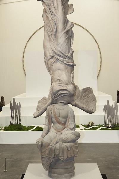Eternity-Victoire de Samothrace-Tianlongshan grottoes Bodhisttva, Xu Zhen
