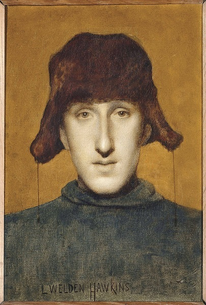 Portrait de jeune homme, Louis Welden Hawkins