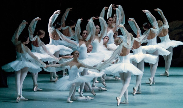 La bayadere all'opera