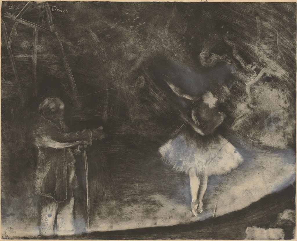 le maître de ballet, Degas - National Gallery of Art Washington