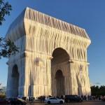 arc-de-triomphe empaqueté Christo Jeanne-Claude