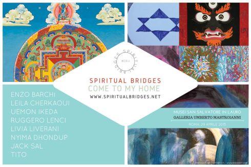 Spiritual Bridges - Come to My Home - Mostra, Vernissage, Musei San Salvatore in Lauro, Museo Umberto Mastroianni Associazione Culture Del Mondo www.culturedelmondo.org