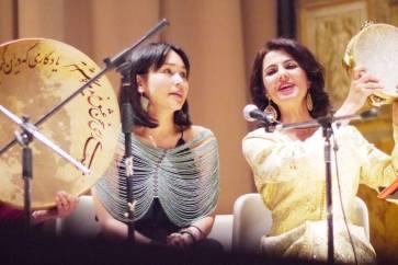 Jacelyn Parry a Villa Torlonia con l'ensemble Come to my Home
