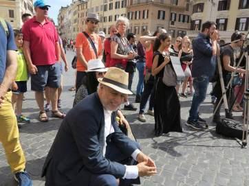 concerto itinerante roma - spiritual bridges 2015 - Driss Alaoui Mdaghri