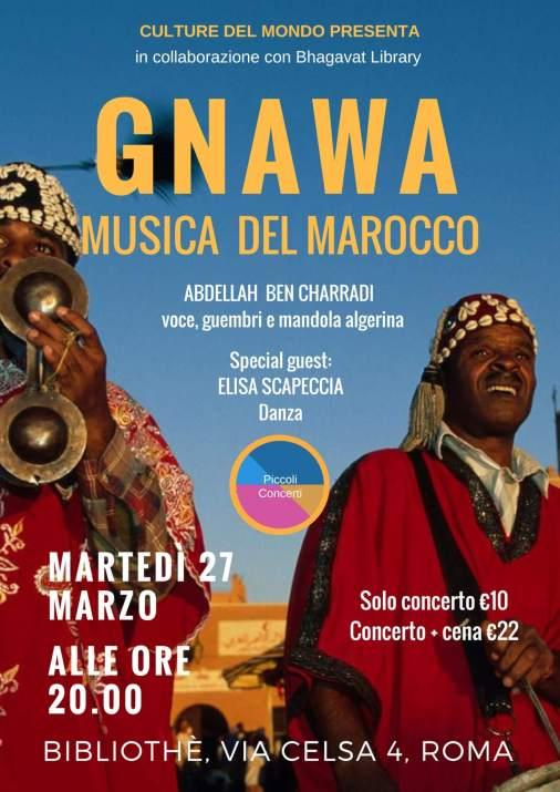 gnawa-musica del marocco