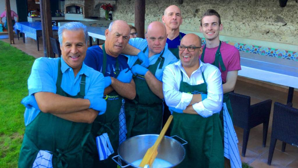 Mozzarella making in amalfi, we respect the culture and make the food of the area