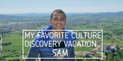 My Favorite Culture Discovery Vacation- Sam