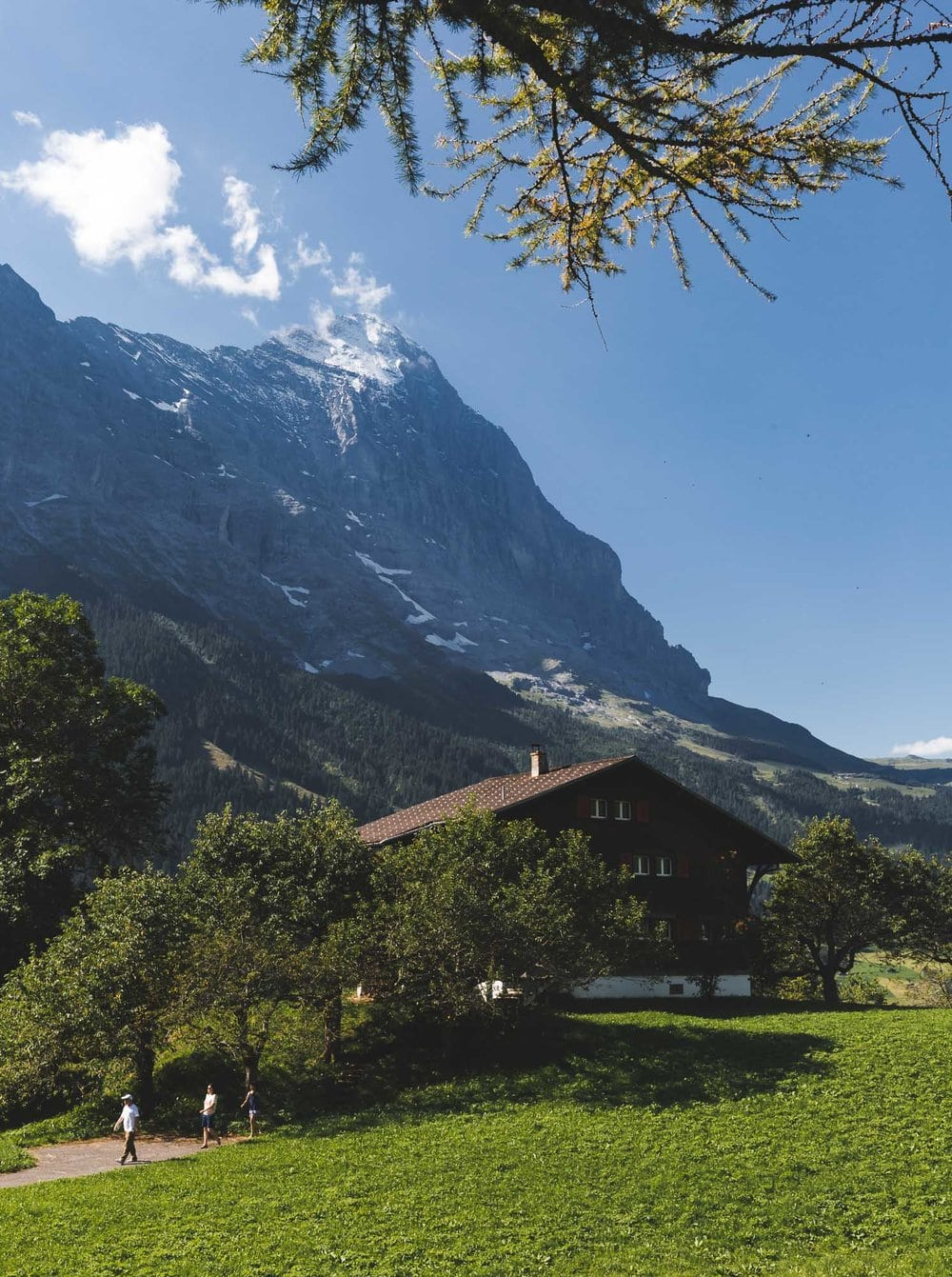 Hiking to the Eiger in Grindelwald