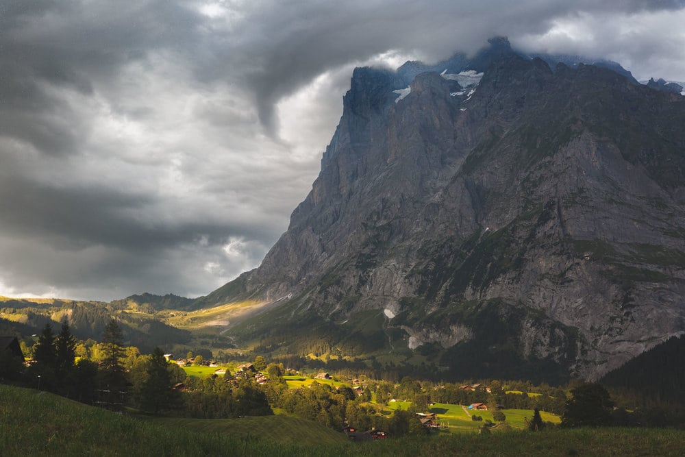 mountain in grindelwald