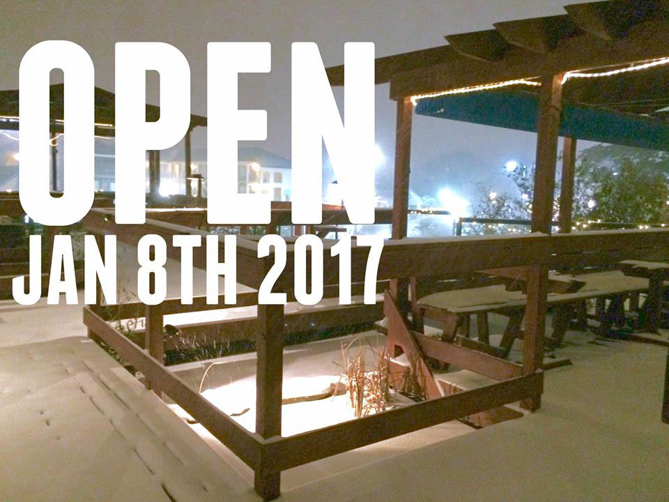Open with Snow! Sunday, January 7th, 2017... The Cultured Pearl Restaurant & Sushi Bar