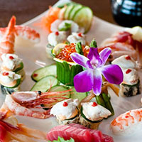 Reservations at The Cultured Pearl - Sushi Plate