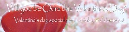 Valentine's Day Special Menu 2021