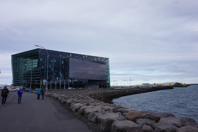 Harpa, Reykjavík's concert hall and an extraordinary architectural feat