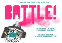 battle graffiti hip hop