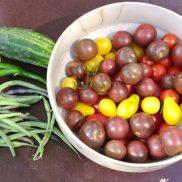 Cultures en herbes jardin marcotte