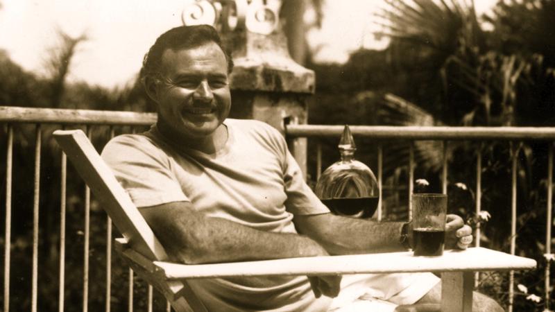 Ernest Hemingway Circa 1946 (Public Domain)