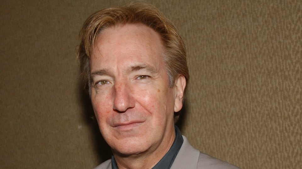 Alan Rickman Photo by Mark Mainz/Getty Images