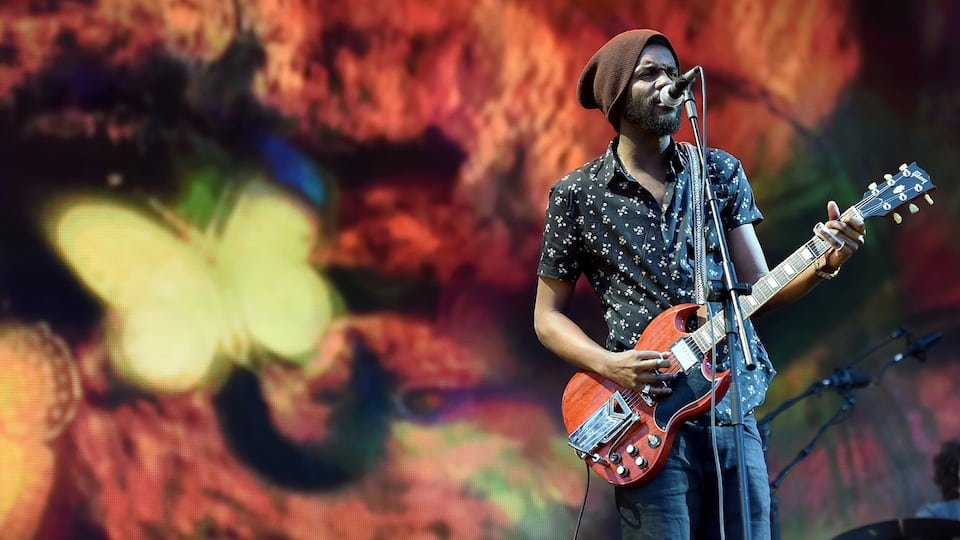 Gary Clark Jr Courtesy of Getty Images