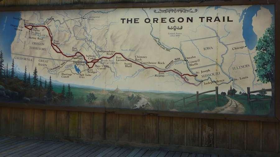 Oregon Trail Public Domain Image