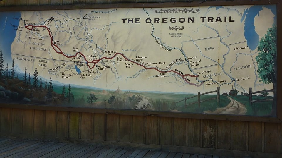 Oregon Trail Public Domain Image