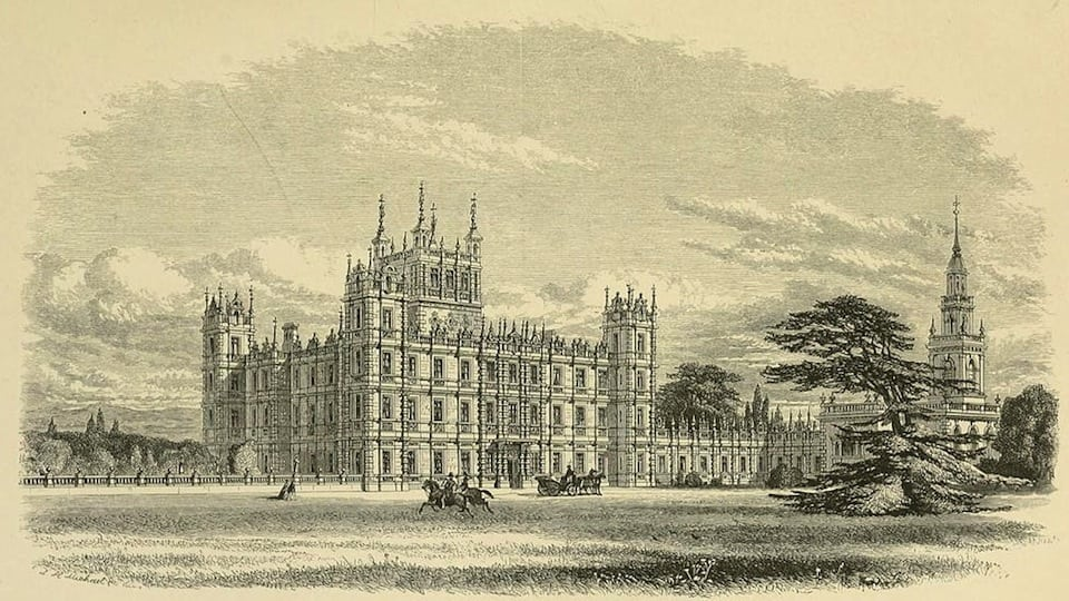 Highclere House (Public Domain)